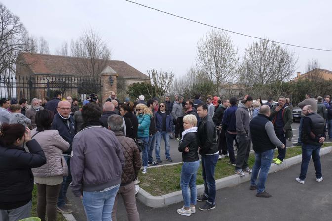 Manifestazione anti-profughi