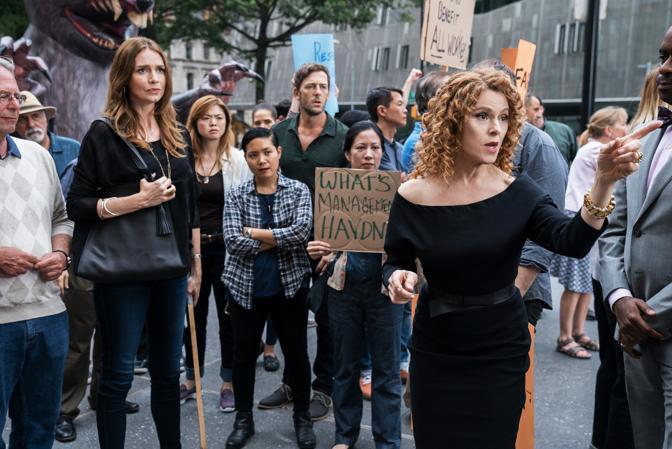 Le proteste della Filarmonica di New York, in sciopero nella serie