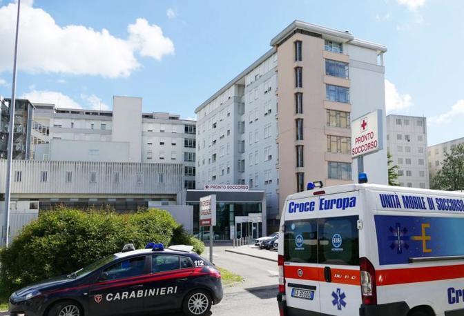 L'ospedale di Nogara, luogo della tragedia