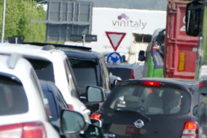 Il traffico del Vinitaly