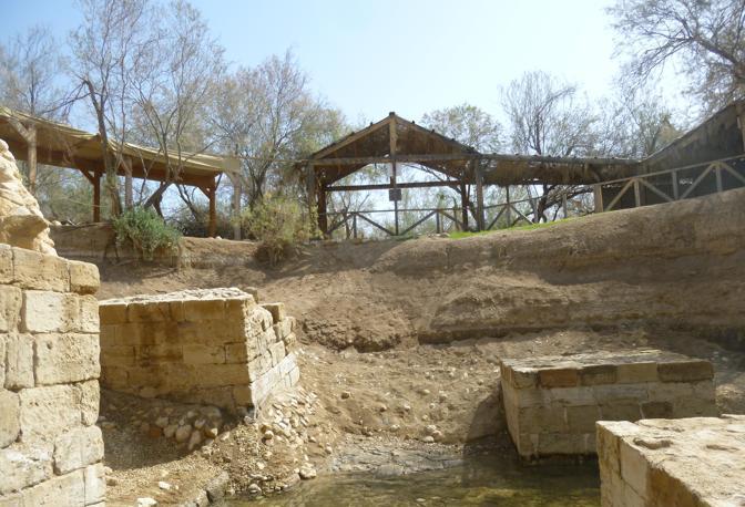 Betania oltre il Giordano, il luogo dove è stato battezzato Gesù