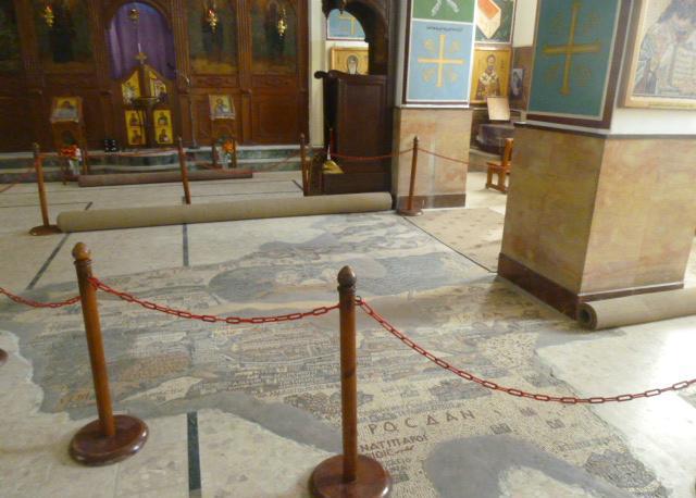 Madaba, il mosaico con la cartina geografica più grande del mondo