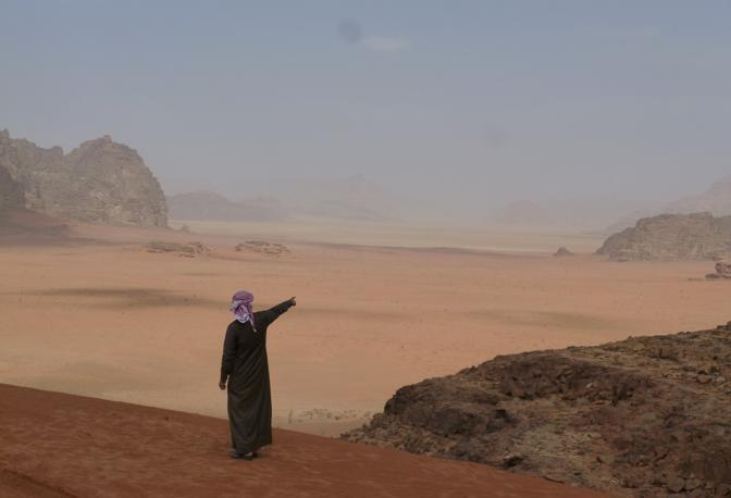 Il deserto di Wadi Rum