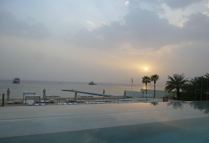 La città portuale di Aqaba sul mar Rosso