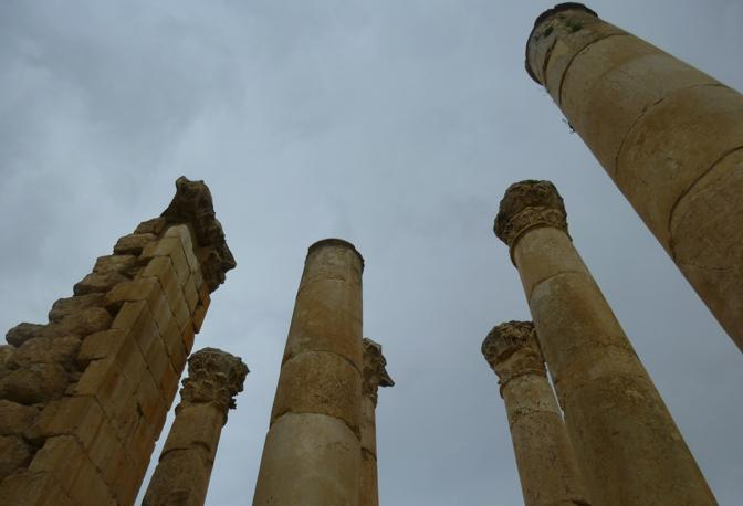 L'antica città di Jerash