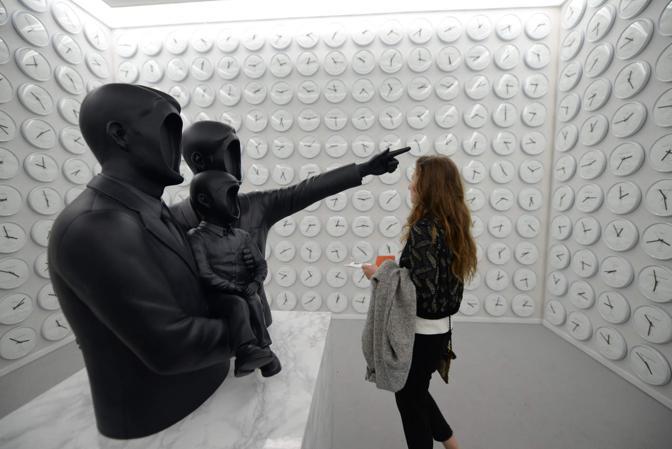 Venezia. Biennale Arte 2017, giardini di Castello. Il Padiglione coreano