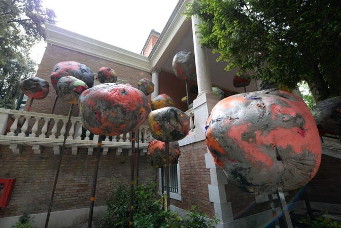 Venezia. Biennale Arte 2017, giardini di Castello. Il Padiglione della Gran Bretagna