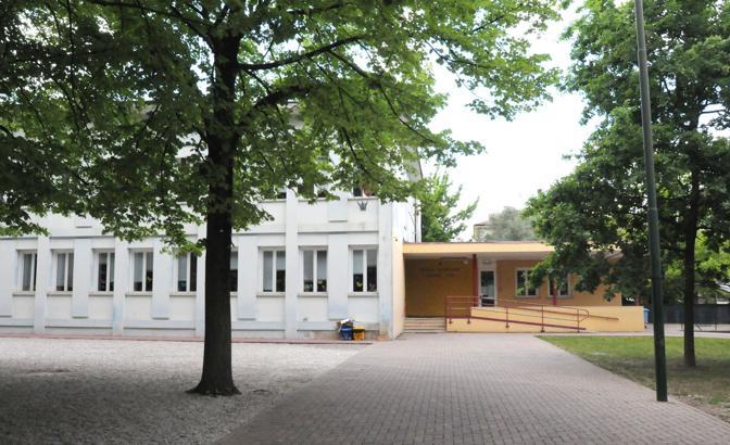 La scuola primaria GIovanni XXIII rimessa a nuovo