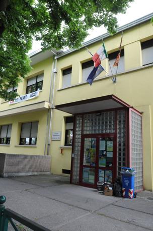 La scuola primaria Vittorino da Feltre di via Sant'Elena imperatrice