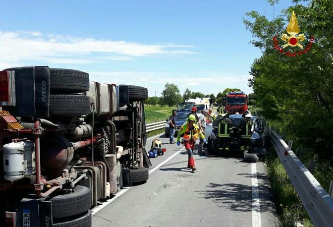 Il luogo dell'incidente, Vigili del Fuoco al lavoro