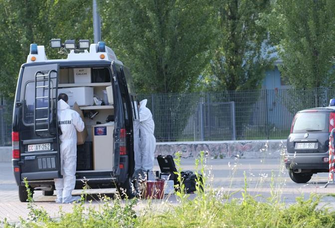 Trebaseleghe, i rilievi delle forze di polizia