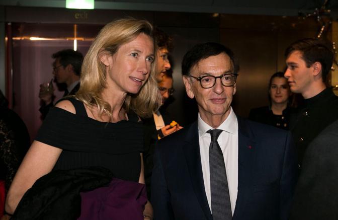 Jean-Paul Claverie con Eleonore De Boysson
