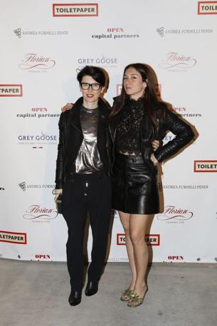 L'artista Lady Tarin e la set designer Michela Natella