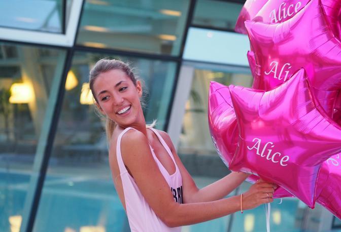 I palloncini per Alice