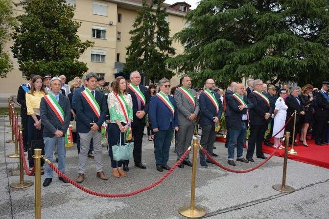 Alcune foto delle fasi salienti della cerimonia