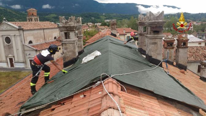 l'intervento a Vittorio Veneto