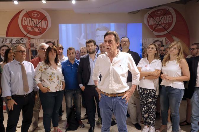 Sede elettorale di Sergio Giordani