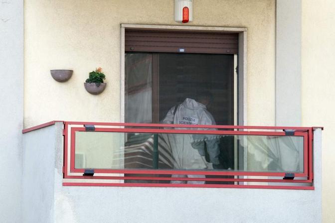 Il luogo del doppio omicidio a Mestre