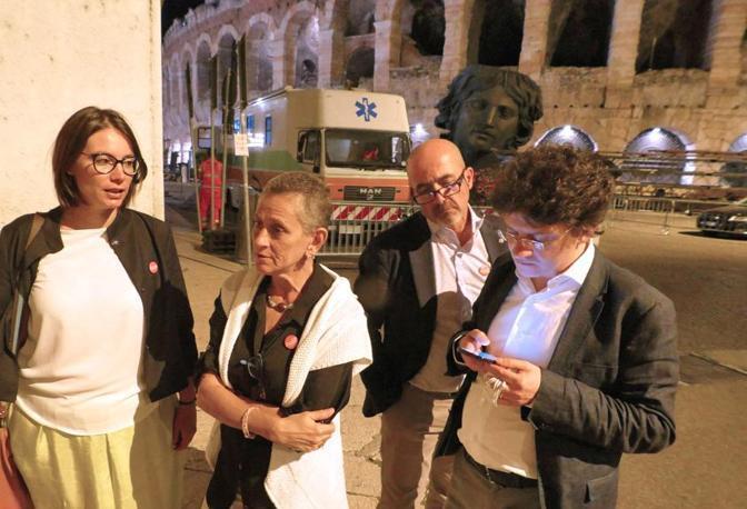 Verona La notte elettorale della candidata Salemi a Verona (Sartori)