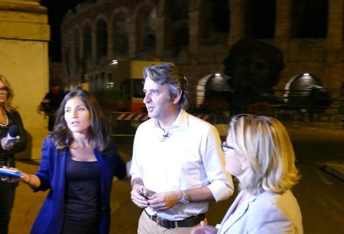Verona La notte elettorale di Sboarina (Sartori)