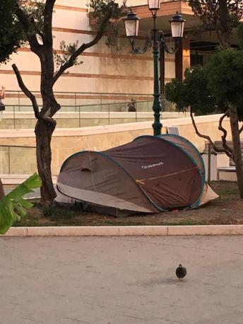 Camping in stazione