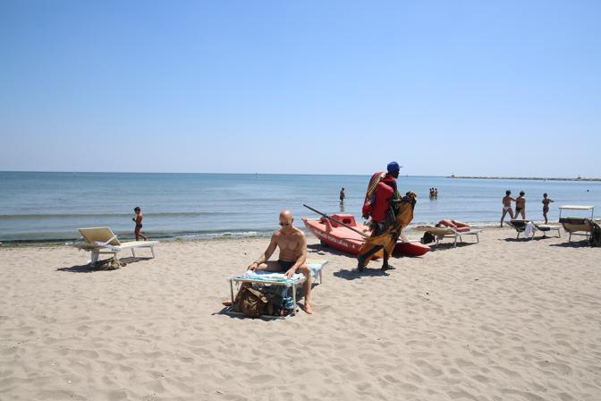 Lo stabilimento «Playa Punta Canna» di Chioggia