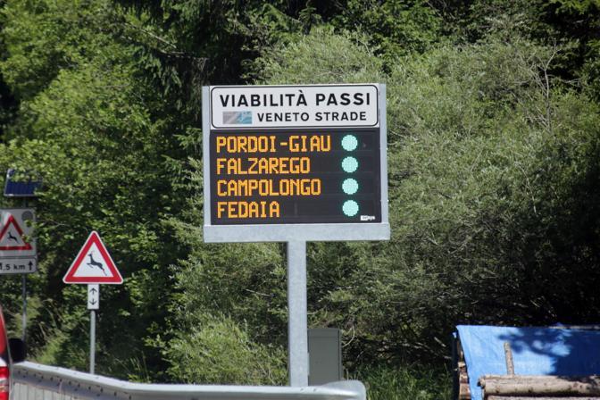 Passo Sella, chiusura infrasettimanale