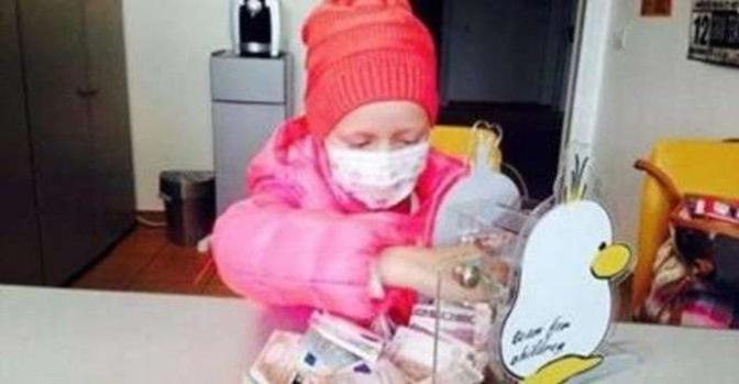 Muore la piccola Aurora Maniero, otto anni. Lottava da tempo contro la leucemia. Tre anni fa consegnò il suo salvadanaio al «Team for children», diventando la bambina più buona d'Italia (Archivio)