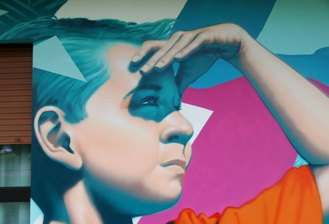 Axe è uno street artist bolognese, padovano di adozione, che decora i palazzi con le sue opere. È previsto un suo intervento, entro fine agosto, per un progetto sperimentale a cura di Sonia Strukul, che porterà alla realizzazione di un murale all'interno della farmacia Meltias di Conselve (Padova). L'ultimo intervento importante è al palazzo delle Poste di Mira (Venezia)