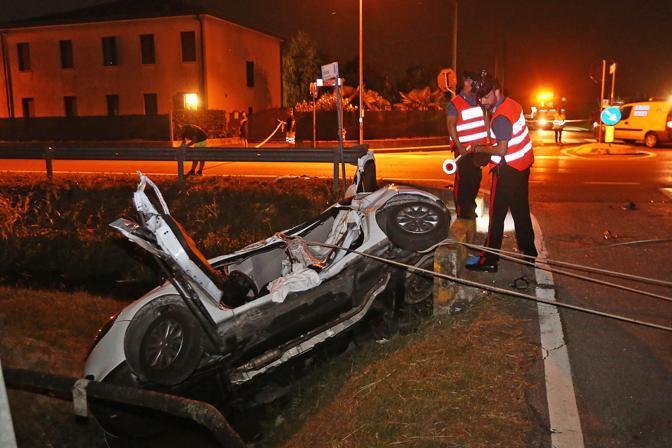 Villanova di Camposampiero, incidente mortale