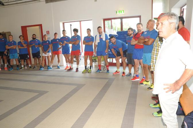È partita ufficialmente la preparazione precampionato Eccellenza 2017-2018 per il Femi-Cz Rugby Rovigo Delta allo stadio «Battaglini»