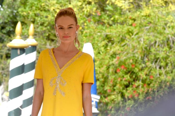 Kate Bosworth arriva alla Mostra del cinema